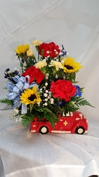 Baby Boy Arrangement Keepsake Container from Yesterday's and Tomorrows in Warner Robins, GA