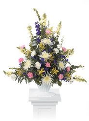 CTT9311 Pedestal Arrangement from Yesterday's and Tomorrows in Warner Robins, GA