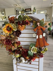 FallAngelWreath from Yesterday's and Tomorrows in Warner Robins, GA