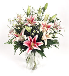 Star Gazer Lily Vase from Yesterday's and Tomorrows in Warner Robins, GA